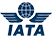 IATA - a trade association representing and serving the airline industry world-wide.